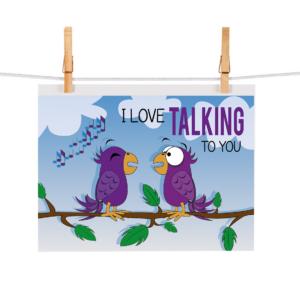 Bonteboel Illustraties Webshop Ansichtkaarten LoveTalkingToYou