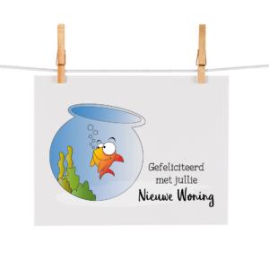 Bonteboel Illustraties Webshop Ansichtkaarten NieuweWoning