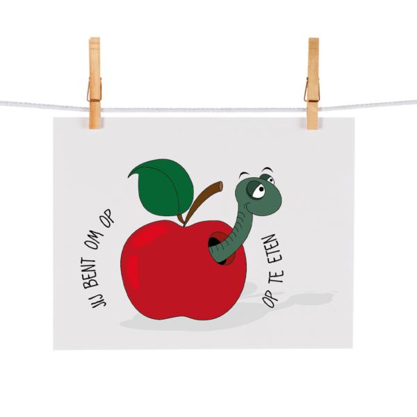 Bonteboel Illustraties Webshop Ansichtkaarten OmOpTeEten