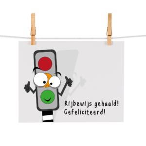 Bonteboel Illustraties Webshop Ansichtkaarten Rijbewijs