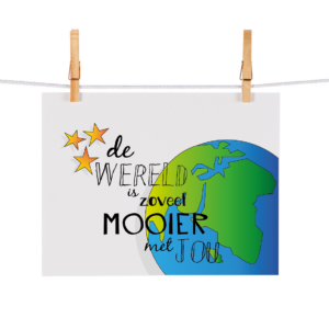 Bonteboel Illustraties Webshop Ansichtkaarten WereldZoveelMooierMetJou